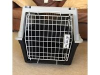 Ferplast Atlas Wire Door Carrier for puppies, small dogs and cats