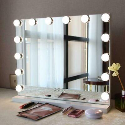 Large Hollywood Makeup Mirror with 14 LED Lights,Touch Control UK