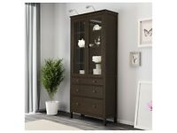 cabinet with 3 drawers Glass VERANDA dresser COMMODE / AVAILABLE DELIVERY