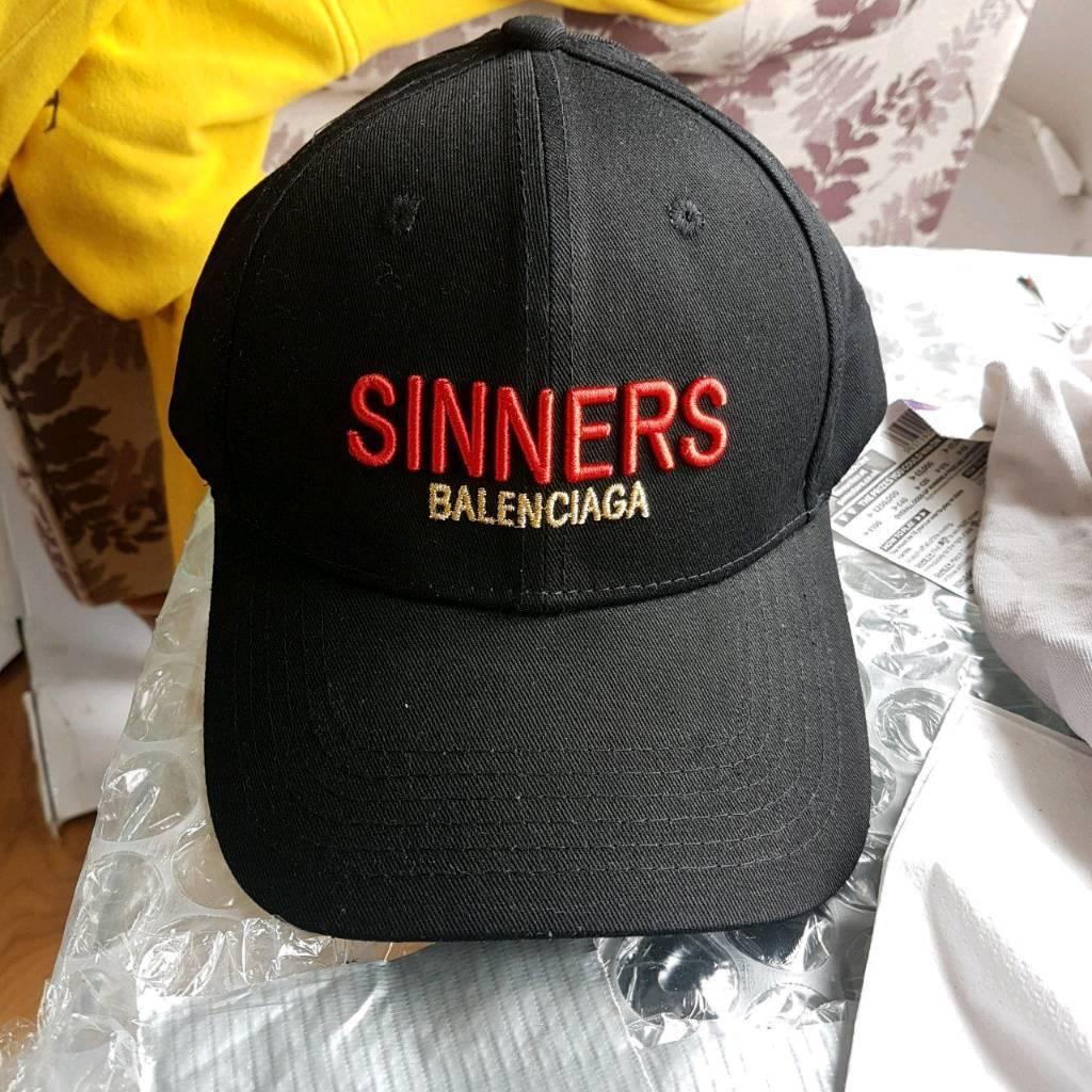 1df7af29954 Balenciaga Sinners cap