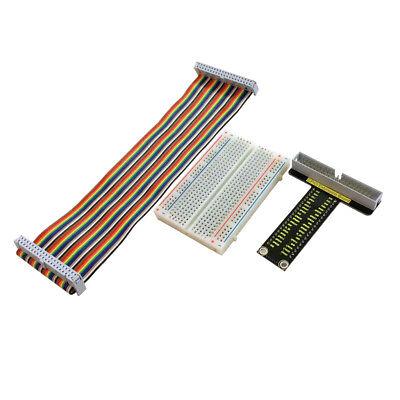 Solderless Breadboard Expansion Board Jumper Wires Kit For Raspberry Pi