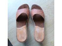 Tsonga ladies' Shoes. Worn once