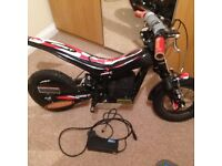 Oset 12.5 electric trials bike