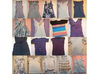Ladies Topshop & Miss Selfridge clothing bundle 24 items all size 8