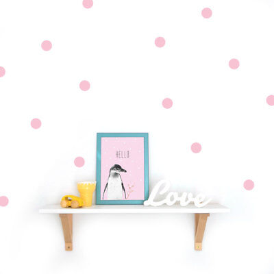 Punkte Wandsticker 4,5 cm Konfetti Wandtattoo Punkte Kinderzimmer Aufkleber Dots