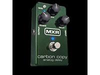 NEAR NEW MRX CARBON COPY GUITAR DELAY EFX PEDAL