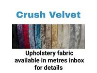 Upholstery fabrics and components for sale