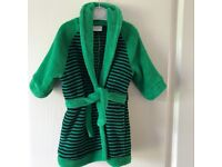 Baby boy's 6-9 mths dressing gown