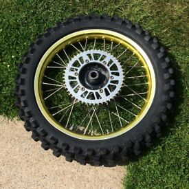 Suzuki Rmz gold talon wheels