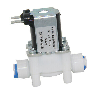 12v Electric Solenoid Valve Water Purifier Machine Control Switch 14 Inch