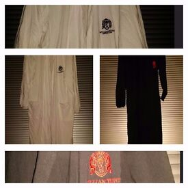 3x WILLIAM HUNT SAVILLE ROW Brand New Dressing gowns