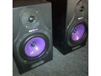 HHB Circle 5 Studio Monitor Passive Speakers - AMAZING SOUND QUALITY - Rare !
