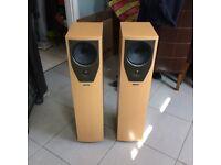 Mission M73 Floor Standing Speakers