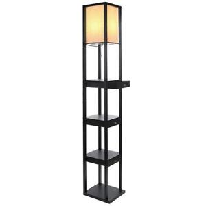 Brightech Maxwell LED Drawer Edition Shelf Floor Lamp  Modern Asian Style - BRAND NEW - FREE SHIPPING