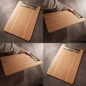 Oak and Beech A4 clipboard