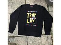 Trapstar Trap Life sweatshirt jumper small