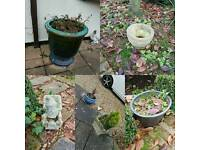 Outdoor planters plant pots FREE
