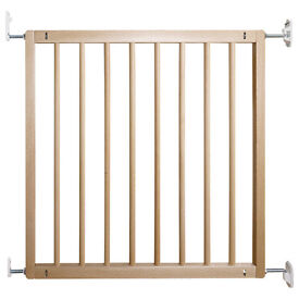 New BabyDan No Trip Wooden Baby Stair Gates