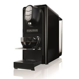 Morphy Richards 179000 Accents Nespresso Compatible Coffee Machine Black. New unwanted gift.
