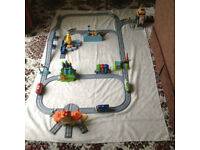 Chuggington trains, depots and track
