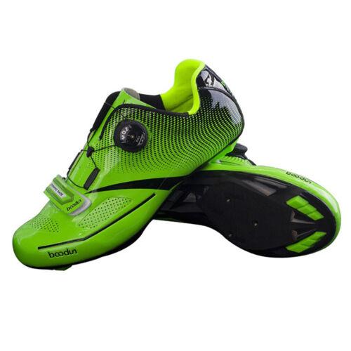 Men Mountain MTB Spin Cycling Shoe Road Bike Sneaker with Qu