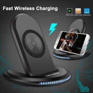 NEW WIRELESS FAST CHARGING PLATE SAMSUNG IPHONE TC017