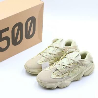 Adidas Yeezy 500 Men Light Gray , Super Moon Yellow , Black DB2908 ,DB2966