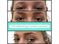 Eyebrow Microblading Models Required for Free Semi-Permanent Brow Treatment
