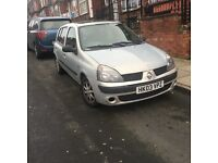 Renault Clio 2003 very cheap £475ono