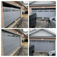 Garage door service, installation and repair