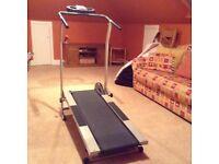 Magnetic (non electric) treadmill