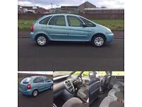 1 LADY OWNER 05 REG CITROEN PICASSO 1.6 1 YEARS MOT READY TO GO