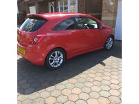Vauxhall corsa sxi 1.2 petrol perfect condition