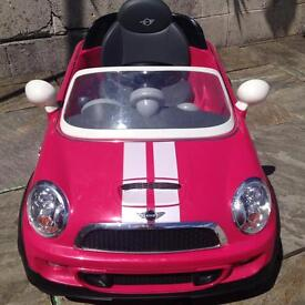 Pink Mini 6v Ride On