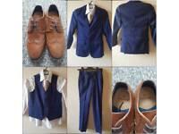 Boys Suit amd shoes