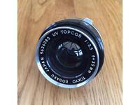 Two Topcor photographic lenses amazing condition