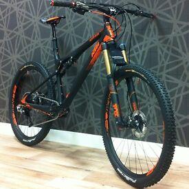 KTM Lycan Prestige Full Suspension Carbon Mountain Bike - 650b - Only 10mths Old