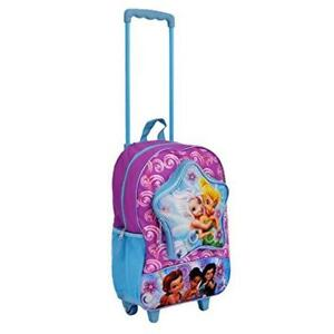 Disney Fairies 16 inch Glitter Wheeled Backpack
