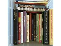 Collection of recipe books