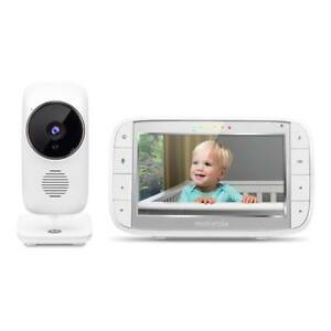 "NEW Motorola MBP48 Digital Video Audio Baby Monitor with 5"" Color Screen"