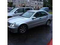MERCEDES C180, 54 REG, 1YR MOT, AUTOMATIC, P/X FOR SMALLER CAR WELCOME