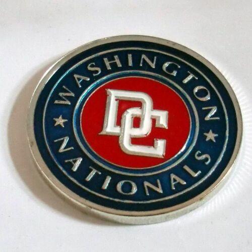 MLB Washington Nationals Poker Chip Card Guard Challenge Coin Golf Marker