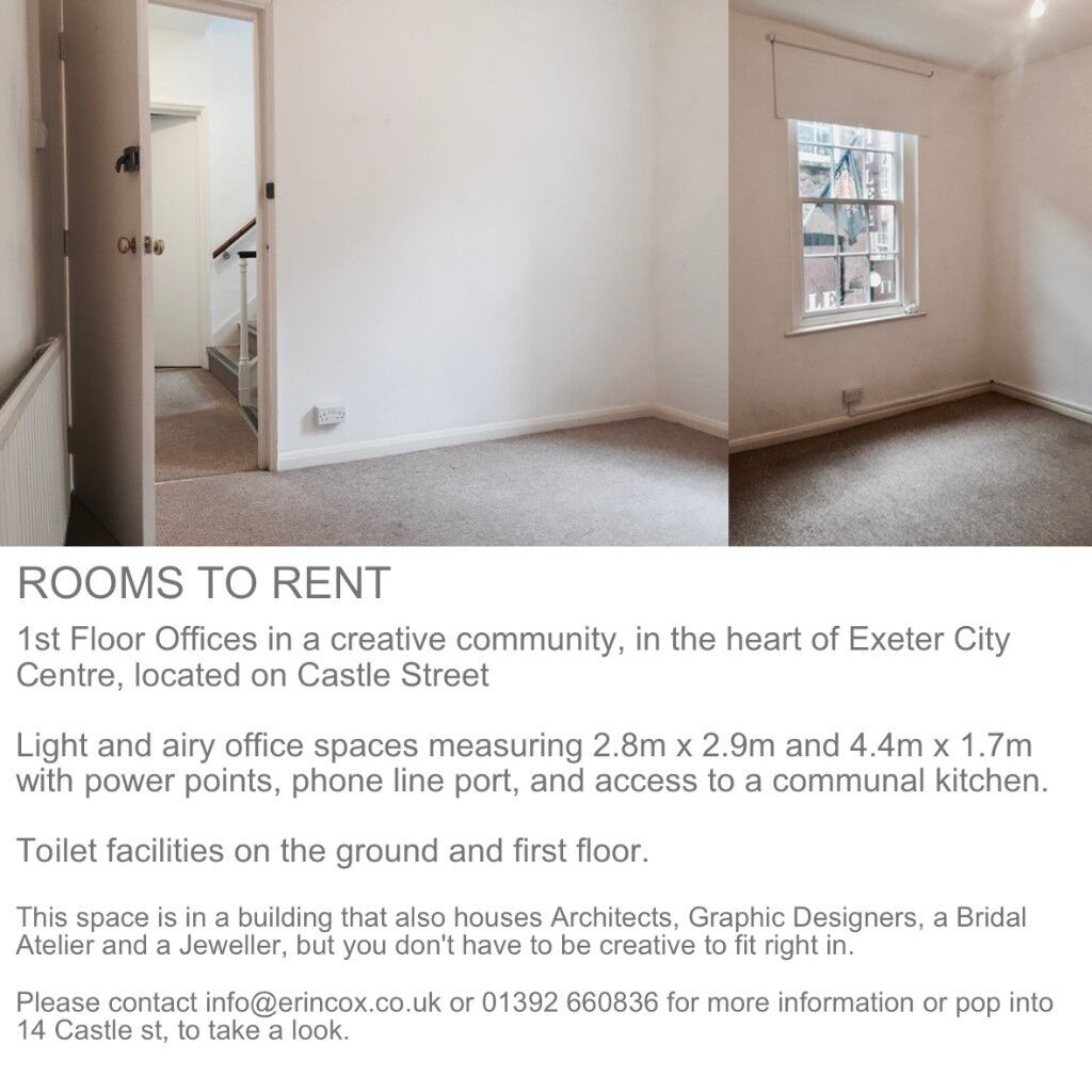 office space exeter. Studio Or Office Space In Castle Street Studios To Rent Exeter