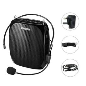 brandnew,boxed10W Voice Amplifier Rechargeable 1800mAh, Portable Waistband Wired Microphone Amplifie
