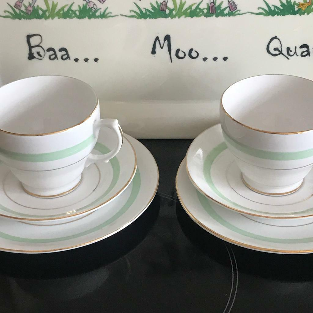 English bone china cups and saucers & plates | in Llanedeyrn, Cardiff |  Gumtree