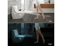 LED Auto Sensor Toilet Night Light (Brand New)