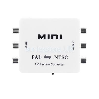 Pal Tv-system (PAL/NTSC/SECAM to PAL/NTSC MINI Bi-directional TV System Switch Converter)