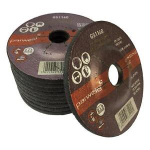 (PACK OF 10) Parweld 100mm Grinding Discs (4