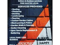 Handyman, man & van, builder