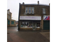 Large shop with several rooms over 3 floors in Stanley town centre